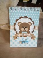 Σημειωματάριο με αρκουδάκι