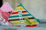 Τσαντάκι-πορτοφόλι με εκτύπωση πουλάκια