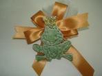 Βάτραχος πρίγκιπας πορσελάνινη μπομπονιέρα
