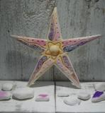 Πλακάκι κεραμικός ροζ αστερίας