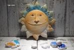 Ο ήλιος για αγοράκι σε κεραμικό πλακάκι