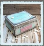 Κουτί αναμνήσεων βάπτισης για νονούς