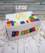 Κουτί ρούχων με θέμα τα lego