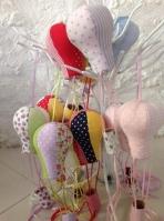 Αερόστατο κρεμαστό πάνινο-μαξιλαράκι