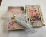 Φλοράλ-λουλούδια ρετρό εποχής σαπουνάκι