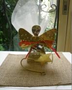 Πρωτότυπο αγγελάκι-αστεράκι σφυρήλατο μεταλλικό